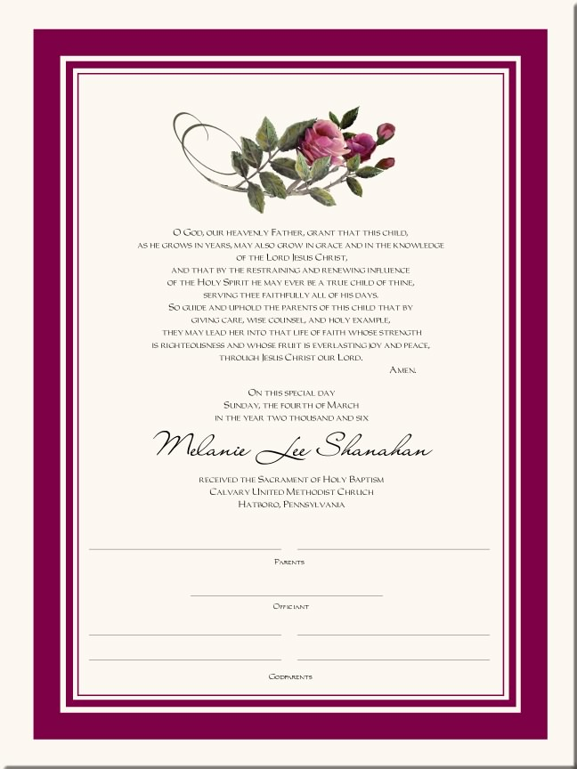 Certificate Border Design