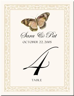 Ideas for Table Numbers photo 323661-1