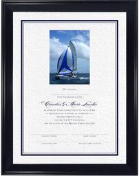 Photograph of Hobbies (Photo) Reaffirmation Wedding Certificates
