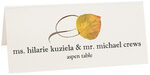 Photograph of Tented Aspen Twisty Leaf Place Cards