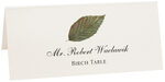 Photograph of Tented Birch Colorful Leaf Place Cards