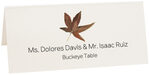 Photograph of Tented Buckeye Colorful Leaf Place Cards