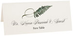 Photograph of Tented Fern Twisty Leaf Place Cards