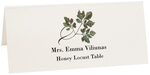 Photograph of Tented Honey Locust Twisty Leaf Place Cards