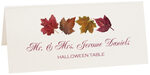 Photograph of Tented Maple Leaf Pattern Place Cards