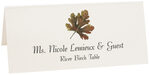 Photograph of Tented River Birch Colorful Leaf Place Cards