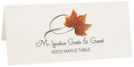 Photograph of Tented Rock Maple Twisty Leaf Place Cards