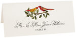 Photograph of Tented Two Red Birds Place Cards