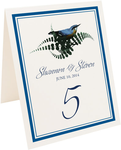 Photograph of Tented Loopie Table Numbers