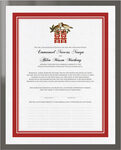 Photograph of Two Birds Double Happiness Wedding Certificates
