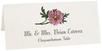 Photograph of Tented Chrysanthemum Place Cards