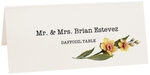 Photograph of Tented Daffodil Place Cards