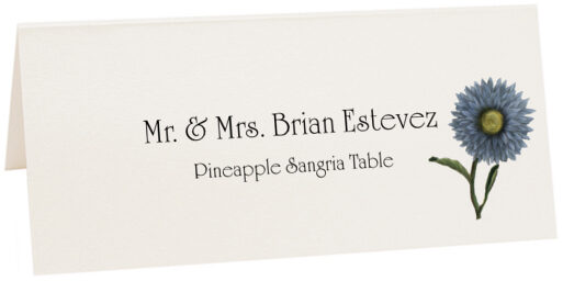 Photograph of Tented Pineapple Sangria Place Cards