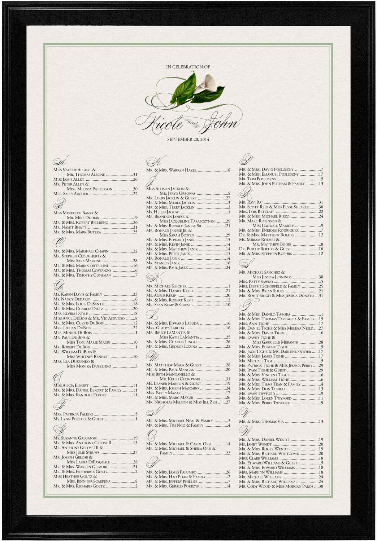 Photograph of Calla Lily Swirl 02 Seating Charts