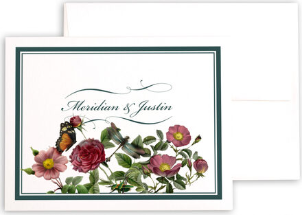Photograph of Rose Garden Thank You Notes