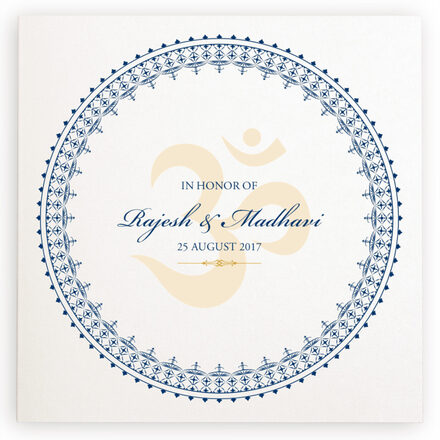 Photograph of Aum Watermark Wedding Programs