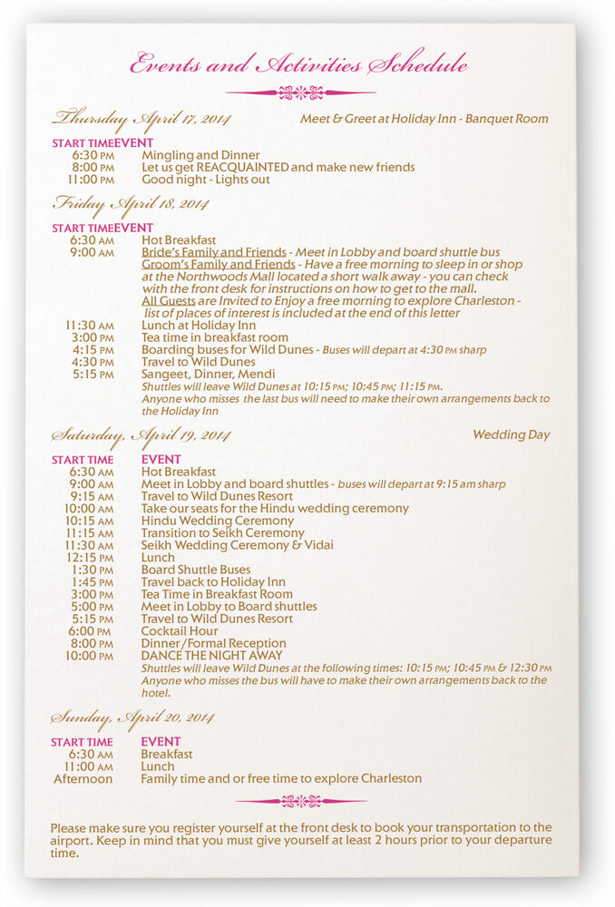 Photograph of Paisley Pillow Wedding Programs