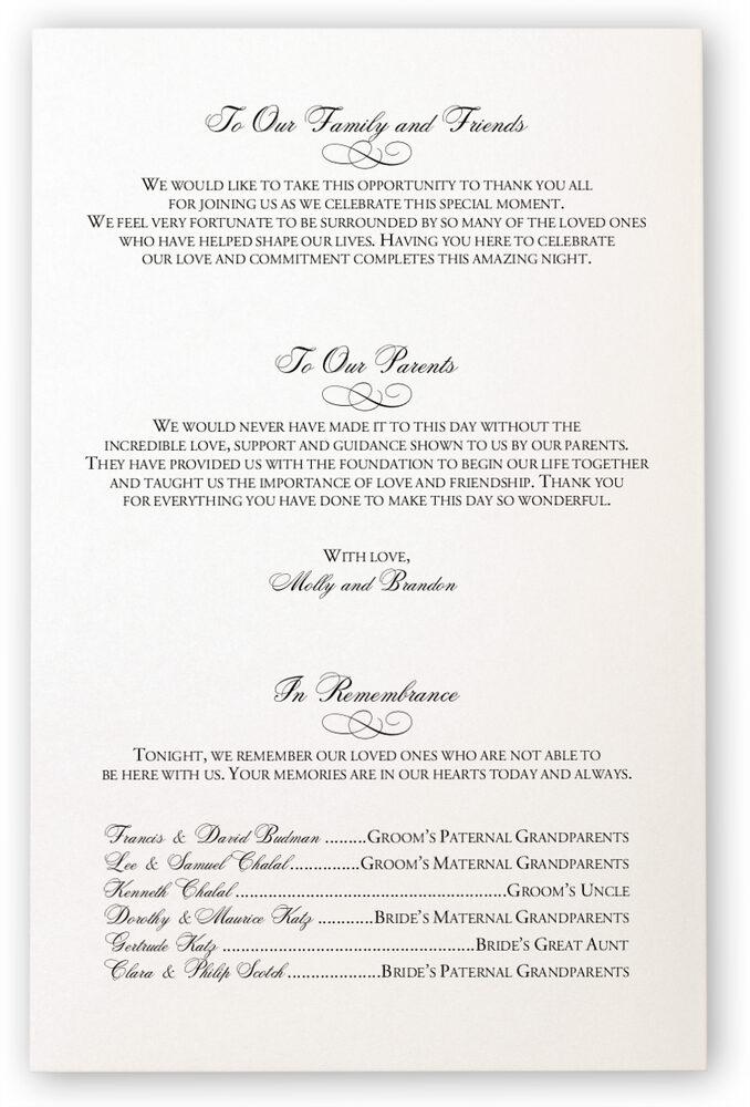 Photograph of Hand of Miriam Wedding Programs