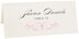 Photograph of Tented Ornate Line Flourish 0510 Place Cards