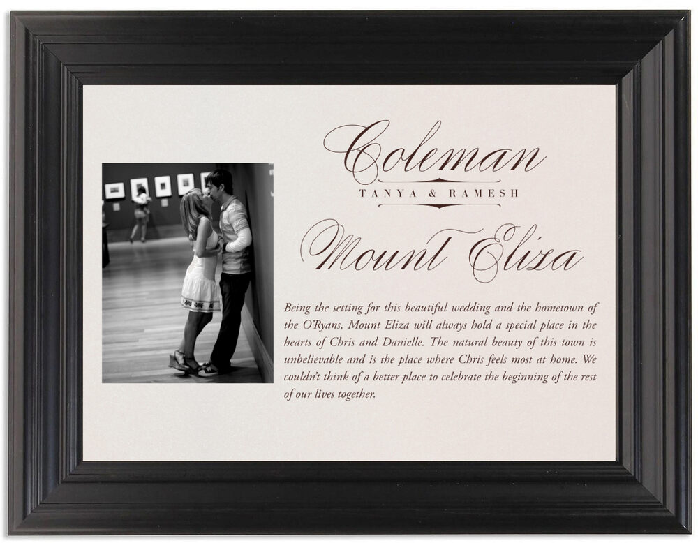 Framed Photograph of Photography 01 Memorabilia Cards