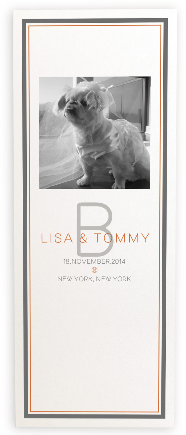 Photograph of Simple Affair Photography Wedding Programs