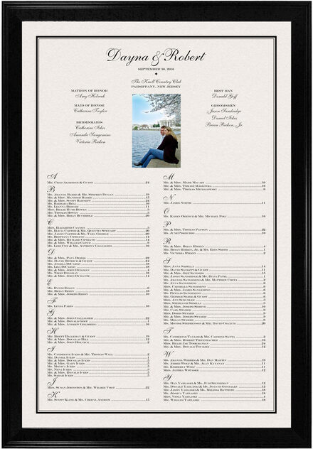 Photograph of Happy Moments Photography Seating Charts