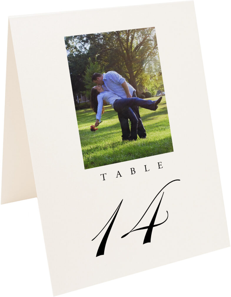Photograph of Tented Engagement Photography 02 Table Numbers