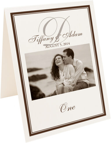 Photograph of Tented Photography 01 Table Numbers