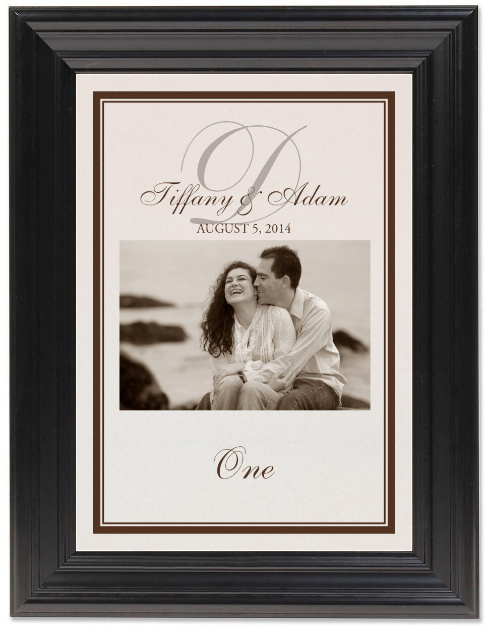 Framed Photograph of Photography 01 Table Numbers