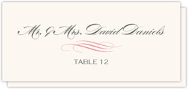 Exclusive Wedding Stationery and Reception Table Numbers