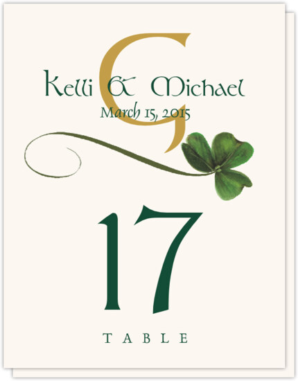 Irish Wedding Table Numbers With Celtic Symbols Celtic Designs