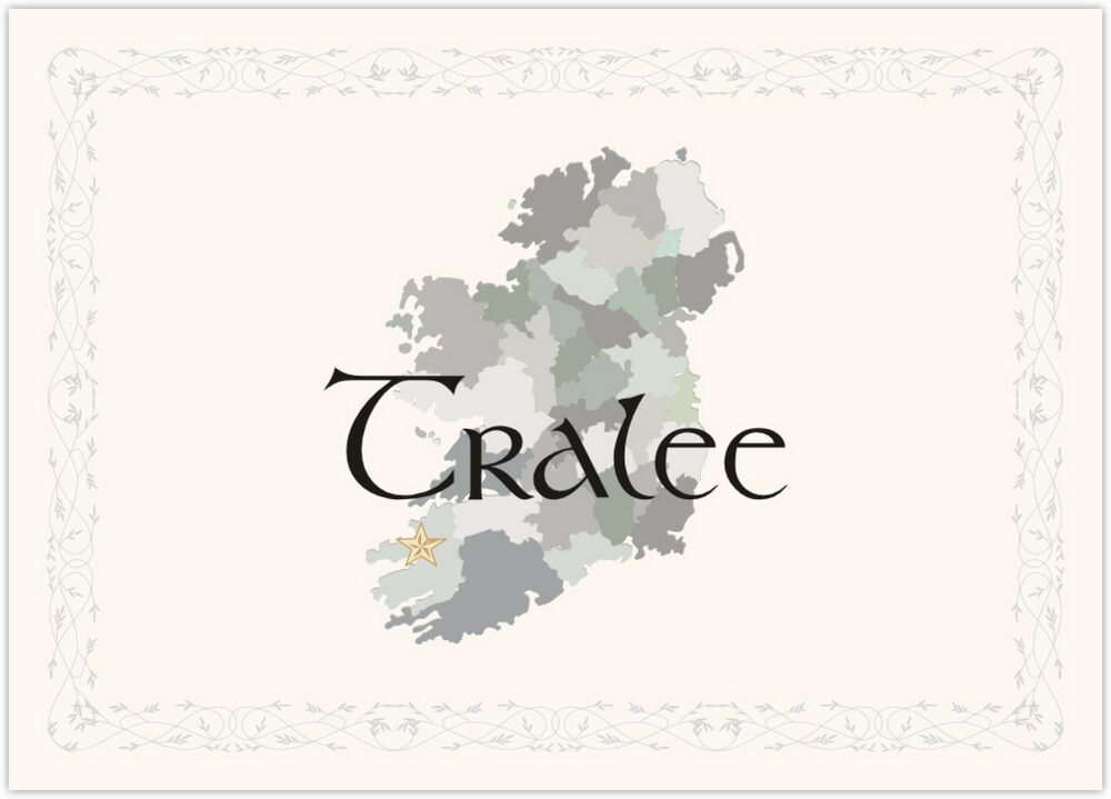 Map of Ireland  Table Names