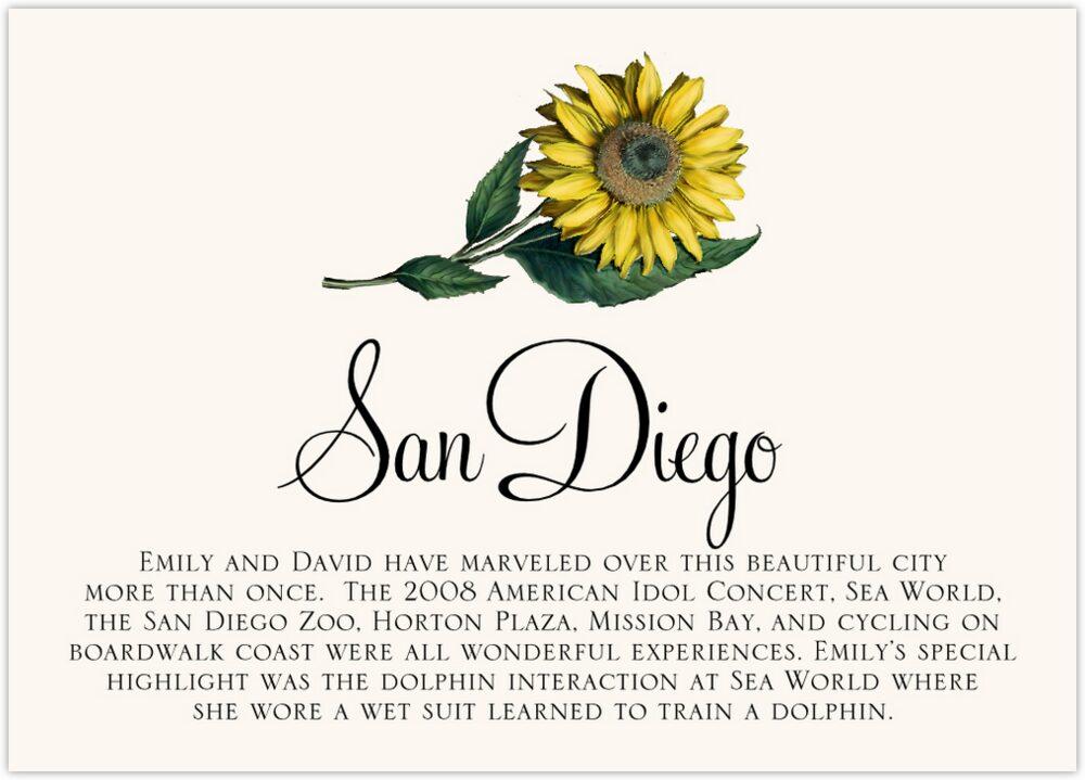 Sunflower  Memorabilia Cards