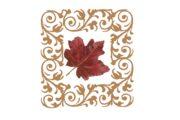Spring Flowers, Autumn Leaves, Grapes Leaf Flourish 05 Artwork