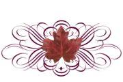 Spring Flowers, Autumn Leaves, Grapes Leaf Flourish 15 Artwork