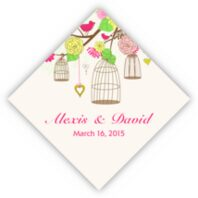 Bird Cages Favor Tags