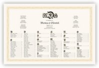 Blackletter Gothic Seating Charts