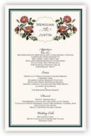 Rose Garden 02 Wedding Menus