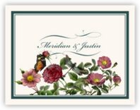 Rose Garden Thank You Notes