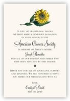 Sunflower Donation Cards