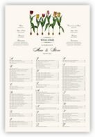 Tulip Bulbs Seating Charts