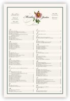 Wild Pink Rose Swirl Seating Charts