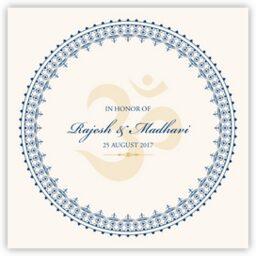 Aum Watermark  Wedding Programs