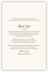 Poinsettia  Wedding Programs