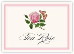 Pink Tea Rose  Table Names