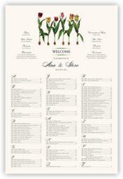 Tulip Bulbs  Seating Charts