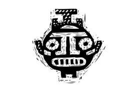 Cultural Illustrations African Mask 02 Artwork