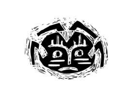 Cultural Illustrations African Mask 08 Artwork