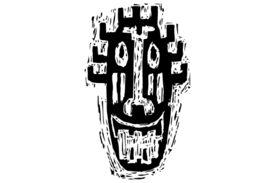 Cultural Illustrations African Mask 21 Artwork