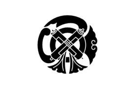 Cultural Illustrations Japanese Family Crest - Amulet Artwork